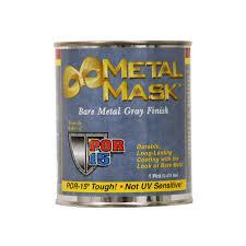 por 15 metal mask bare metal gray paint interior rust prevention