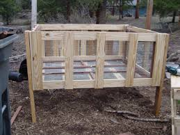 How To Build A Rabbit Hutch Out Of Pallets Rabbit Hutch Diy Do It Your Self