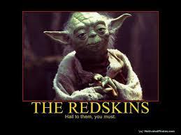 Funny Redskins Memes - the redskins yoda hail to them you must redskins dbacks