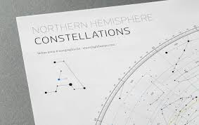 Constellations Map Constellation Map U2013 Anaptár By Anagraphic