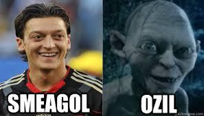 Ozil Meme - ozil smeagol misc quickmeme