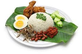 cuisine stock nasi lemak coconut rice malaysian cuisine stock image image