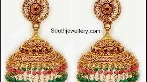 gold earrings jhumka design cheap earring jhumka design find earring jhumka design deals on