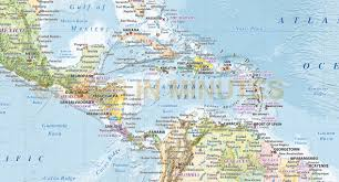 Caribbean Map by Central America Caribbean Pbd Childrens Art Museum Road Map Of