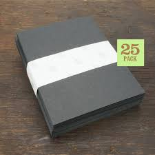 blank notecards with envelope size a2 black cards and envelopes