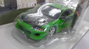 eclipse mitsubishi fast and furious mixjikz revell fast and furious diecast 1 24
