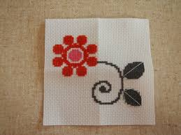 how to cross stitch a basic design howtoi
