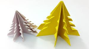 easy u0026 simple paper christmas tree diy 3d origami christmas tree