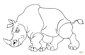 download coloring pages rhino coloring page rhino coloring page