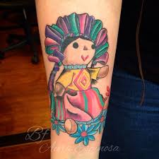 tattoo mexican doll cloth buscar con google tattoos
