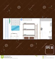 safe room home bunker vector stock vector image 84965480