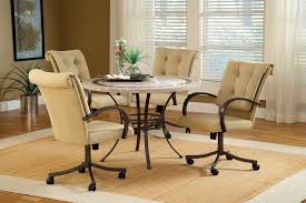 Glass Round Kitchen Table by Get Your House Perfect By Putting Game Table Chairs There