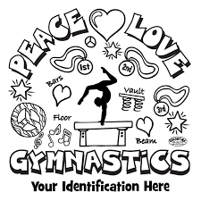 coloring pages delightful gymnastics coloring pages