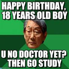 Birthday Memes 18 - happy birthday 18 years old boy on memegen