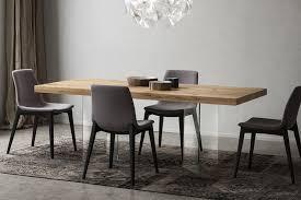 tavoli design cristallo due tavoli in legno e vetro cristallo trasparente napol