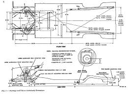 1968 mustang dimensions frame rails