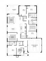 Two Story Bedroom Four Bedroom Bungalow House Plans Modern With Photos Inspired