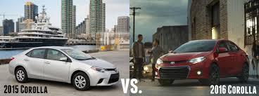 toyota yaris vs corolla comparison 2016 vs 2015 toyota corolla comparison