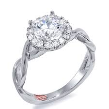 twisted halo engagement ring designer engagement jewelry and rings demarco bridal jewelry