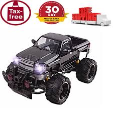 rc monster truck remote control car opening doors 1 14 toy kids