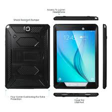 Samsung Galaxy Rugged Shockproof Rugged Case Cover Stand Bluetooth Keyboard For