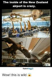 This Is Crazy Meme - the inside of the new zealand airport is crazy talent explore wow