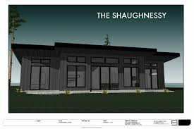 Modern Three Bedroom House Plans - no 40 the shaughnessy house 3 bedroom 2 bath modern house