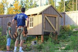 Building Backyard Chicken Coop Raising Backyard Chickens Chino The Handyman Builds A Coop One