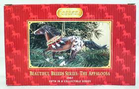 breyer beautiful breeds christmas ornament appaloosa u2013 triple