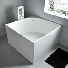 square freestanding bath tub 41 x 41 from adm bathroom design square shower bath from better bathrooms bathroom fittings