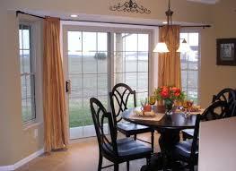 Sliding Door Curtains Curtains For Sliding Glass Doors In Dining Room Curtain Inspiring
