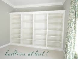 Crown Molding Bookshelf From Billys To Built Ins Centsational