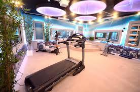 fancy house inside modern house gym inside with beautiful lighting decor idea fancy