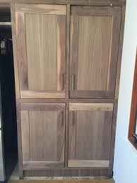 can you paint clear coat cabinets how to finish protect walnut kitchen cabinets