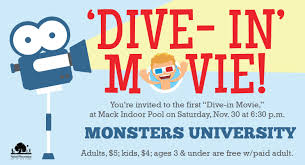 the first thanksgiving movie dive in movie at mack pool over thanksgiving weekend ann arbor