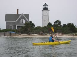 barnstable harbor kayak and climb sandy neck lighthouse cape cod