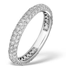 white gold eternity ring 9k white gold diamond eternity ring 1 00ct e5213 item e5213