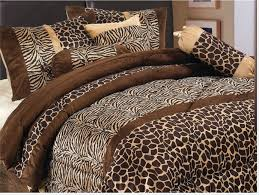 Leopard Bed Set Size Of Bedding Cool Leopard Print Bedding Comforter Set In