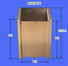 How To Make A Building Plan Free by Free Potato Bin Plans How To Make A Vegetable Storage Bin