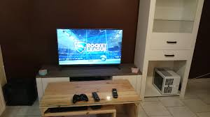 livingroom pc finnaly finished my living room the best console is obviously a