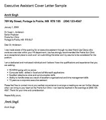 senior executive assistant cover letter office assistant cover