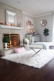 Fur Area Rug 15 Different Ways To Decorate Your Home With Faux Fur