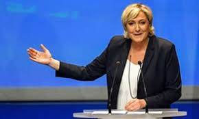 si e du front national marine le pen promises liberation from the eu with