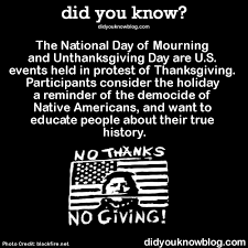 opinions on unthanksgiving day