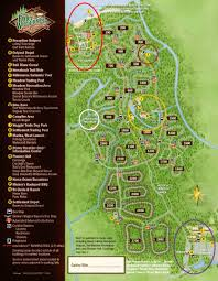 Great Loop Map Review The Campsites At Disney U0027s Fort Wilderness Resort