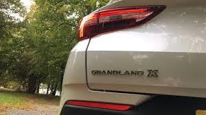 2017 vauxhall grandland x first drive good value space