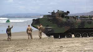 amphibious vehicle marines women make history at camp pendleton train for combat roles kpbs