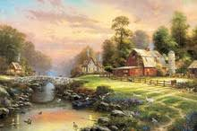 Thomas Kinkade Clocktower Cottage by Popular Farm Art Buy Cheap Farm Art Lots From China Farm Art