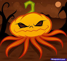 how to draw a pumpkin head pumpkin head step by step halloween