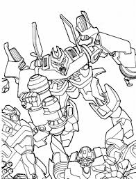cartoons coloring pages transformers coloring pages